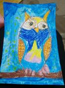 """Пастель масляная художественная для рисования Brauberg Art """"Classic"""", набор 24 цвета, утолщенная, круглое сечение #2, Ульяна Б."""