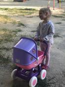 """Полесье коляска для кукол """"Arina"""" 4-х колёсная в пакете #9, Ангелина Б."""