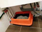 Туалет ( лоток ) с бортом , 40*27*11 см, серый #7, Людмила А.