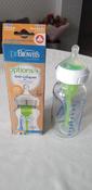 Стеклянная бутылочка Dr. Brown's с широким горлышком, антиколиковая, с силиконовой соской, 270 мл #9, Лилия Б.