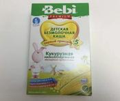 Bebi Премиум каша Кукурузная низкоаллергенная с пребиотиками, с 5 месяцев, 200 г #15, Ирина