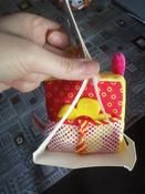 Развивающий кубик для самых маленьких с зеркалом и прорезывателем Бро, Мякиши #6, Наталья Г.