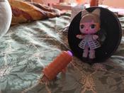 L.O.L. Surprise Кукла ЛОЛ Неон Блестящая серия L.O.L.Неон ЛОЛ Lights Glitter Неон #1, Артур Х.