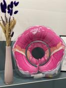 Круг надувной на шею для купания новорожденных и малышей Flipper Балерина от ROXY-KIDS #12, Анастасия Р.