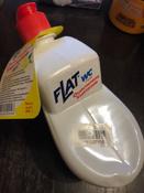 """Очиститель унитазов """"Flat"""", с ароматом лимона, 480 г #3, Яна З."""