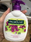 """Palmolive Жидкое мыло для рук Натурэль """"Роскошная Мягкость"""", черная орхидея, 300 мл #1, Наталья"""