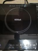 Индукционная Настольная плита Kitfort KT-104, черный #6, Ольга Х.