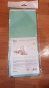 Клеенка подкладная резиновая с ПВХ-покрытием ROXY-KIDS 68х100 см, цвет бирюзовый #2, Алёна К.
