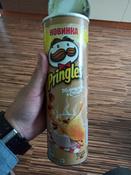 Pringles чипсы картофельные, со вкусом белых грибов со сметаной, 165 г #2, Илья И.