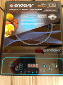 Индукционная Настольная плита Endever IP-26, черный #6, Марина