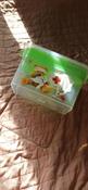 Контейнер с вкладышем Ар-Пласт Аптечка, медведь, зеленый, 11 л #6, Алла Б.