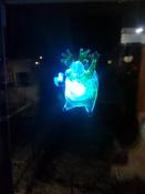 """Светодиодная фигура """"Олень"""" со сменой цвета на присоске 70x95x13 мм, цвет свечения: RGB #3, Александр К."""