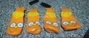 Прорезиненные теплые носки для собак Грызлик Ам, Цвет Оранжевый, Размер 3XL (A-66мм, B-80мм, C-50мм, D-150мм) #6, Юлия В.