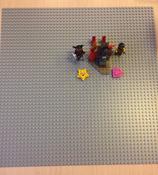 Конструктор LEGO Classic 10701 Строительная пластина серого цвета #8, Ульяна