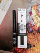 NYX Professional Makeup Matte Liquid Liner Жидкий матовый лайнер Matte Liquid Liner, оттенок 01, Black, 2 мл #8, Татьяна Н.