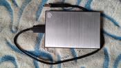 2 ТБ Внешний жесткий диск Seagate Backup Plus Slim (STHN2000401), серебристый #14, Людмила Б.