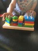 Краснокамская игрушка Набор строительных деталей Геометрик #10, Анна К.