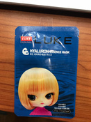 Luke Hyaluron Essence Mask. Маска, с гиалуроновой кислотой, 21 г #2, Анастасия Б.