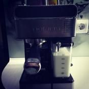 Кофеварка рожковая Polaris PCM 1535E Adore Cappuccino, серебристый #15, Анастасия О.