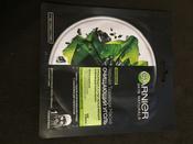 Garnier Увлажняющая черная тканевая маска Очищающий Уголь + Черные водоросли с гиуалроновой кислотой, сужающая поры, 28 гр #15, Илина И.