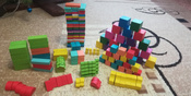 Кубики цветные Томик 20 шт. #12, Надежда В.