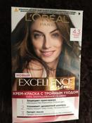 L'Oreal Paris Стойкая крем-краска для волос Excellence, №4.3 #6, Усольцева А.