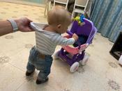 """Полесье коляска для кукол """"Arina"""" 4-х колёсная в пакете #5, Анна М."""