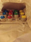 """Развивающая игрушка Краснокамская игрушка """"Грибочки"""", Н-60 #14, Полина В."""