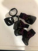 Прорезиненные теплые носки для собак Грызлик Ам, Цвет Фиолетовый, Размер XS (A-28мм, B-35мм, C-25мм, D-70мм) #4, Гульнара А.
