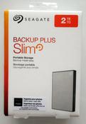 2 ТБ Внешний жесткий диск Seagate Backup Plus Slim (STHN2000401), серебристый #5, Валерий К.
