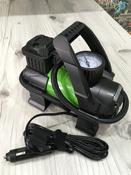 Компрессор автомобильный Q3 Stvol, металлический со светодиодным фонарем, 40 л/мин, 12В, 10А, с сумкой #2, Игорь К.