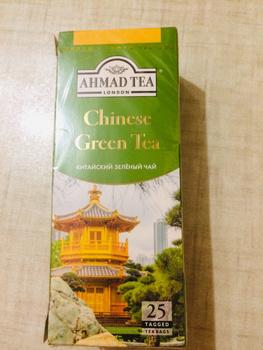 зеленый чай китайский в пакетиках