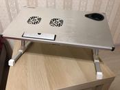"""Столик/подставка для ноутбука Crown Micro Crown Micro CMLS-101 столик для ноутбука 17"""", 50х28х32 см #3, Юлия Я."""