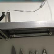 Светильник (с сертификатом) 8 Вт ультрафиолетовый бактерицидный с лампой. Накладной (настенный). Без озонирования. 253.7 нм. Корпус белый. (кабель и выключатель в комплекте)(М) #15, Сергей С.