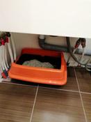 Туалет ( лоток ) с бортом , 40*27*11 см, серый #6, Людмила А.