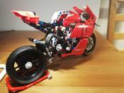 Конструктор LEGO Technic 42107 Ducati Panigale V4 R #13, максим д.