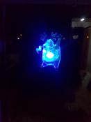 """Светодиодная фигура """"Олень"""" со сменой цвета на присоске 70x95x13 мм, цвет свечения: RGB #6, Александр К."""