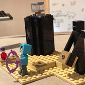 Конструктор LEGO Minecraft 21151 Последняя битва #3, Екатерина С.