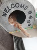 "Домик для животных Eva ""Будка WELCOME"", войлок, 33х33х45см #1, Ольга Е."