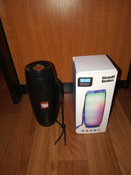 Портативная колонка TG-157 10Вт, 2 динамика, FM радио, Hands Free, micro SD, 1200мАч, цвет черный #2, Дмитрий Н.