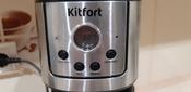 Кофеварка электрическая Капельная Kitfort KT-732, серебристый #3, Сергий Г.