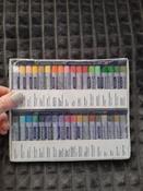 """Пастель масляная художественная для рисования Brauberg Art """"Classic"""", набор 36 цветов, круглое сечение #4, Veronika M."""