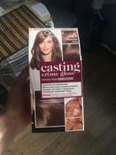"L'Oreal Paris Стойкая краска-уход для волос ""Casting Creme Gloss"" без аммиака, оттенок 613, Морозное глясе #9, Анастасия Ш."