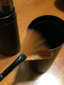 Набор кистей для макияжа черный12 шт + футляр подставка #10, Даша А.
