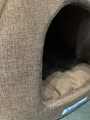 """Домик для животных Бобровый Дворик, """"Сладкий Сон"""" Рогожка, №1, Коричневый 39х39х35см #11, Ольга В."""
