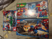 Конструктор LEGO Marvel Super Heroes 76150 Реактивный самолёт Человека-Паука против Робота Венома #6, Елена