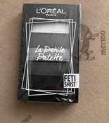Мини-палетка теней для век L'Oreal Paris La Petite Palette, 5 цветов, оттенок 06, Одержимость #10, Дарья Хазова
