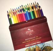 Набор карандашей акварельных MONDELUZ, 36 цв #21, Светлана Е.