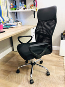 Офисное кресло Brabix Tender MG-330, Сетка, Ткань, черный #4, Анна Д.