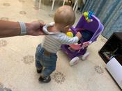"""Полесье коляска для кукол """"Arina"""" 4-х колёсная в пакете #6, Анна М."""